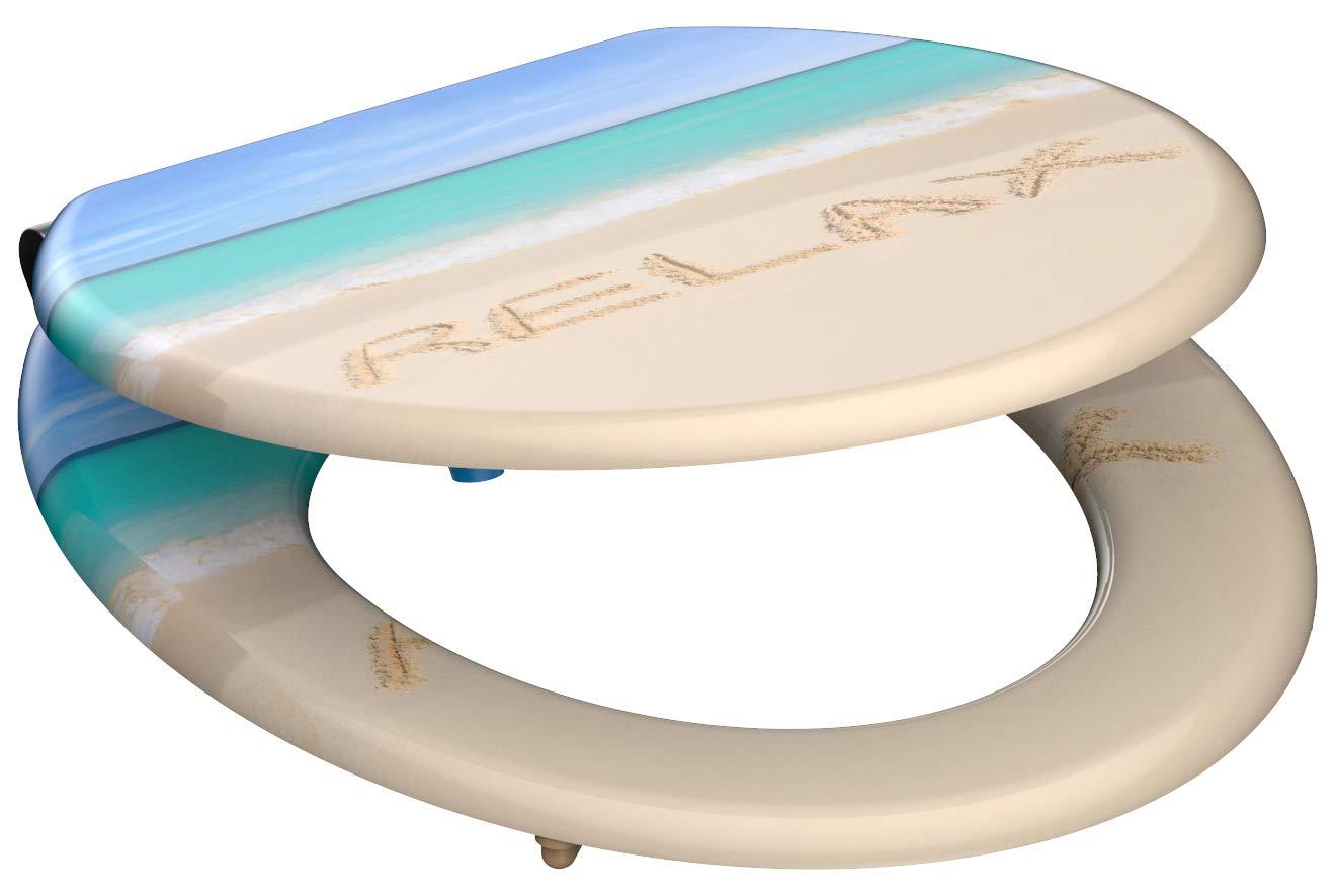 Eisl / Schuette Wc sedátko Relax MDF se zpomalovacím mechanismem SOFT-CLOSE 80131Relax