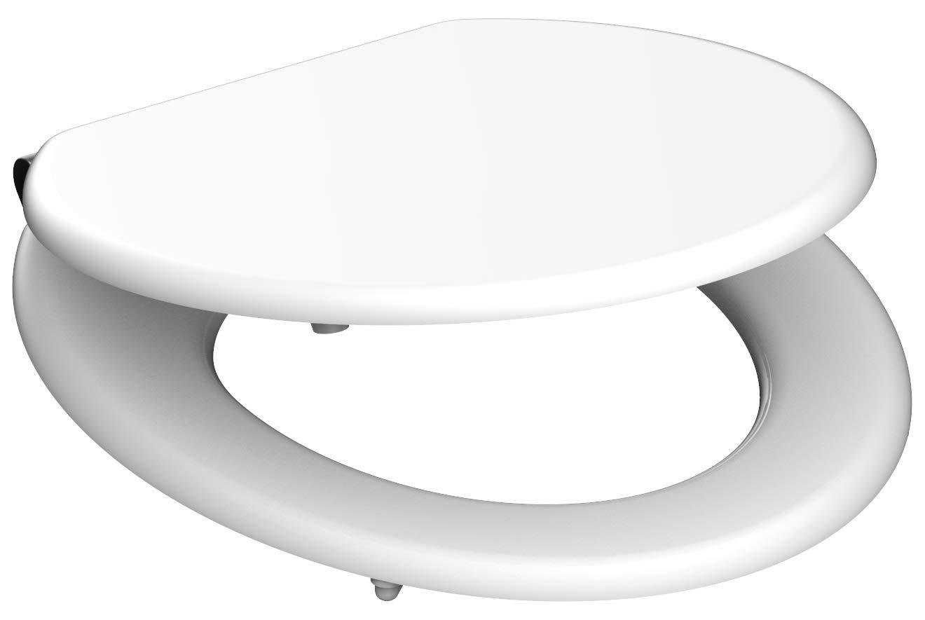 Eisl / Schuette Wc sedátko White MDF se zpomalovacím mechanismem SOFT-CLOSE 80101White