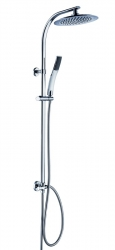 Sprchový set s tropickým deštěm STILOVAL včetně termostatické baterie Claudio (DXSTIOVCS/Claudio) - Eisl