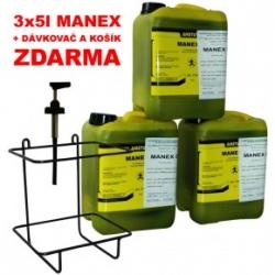 Čistič rukou Amstutz Manex G sada 3x 5kg + dávkovač a košík ZDARMA (EG903)