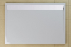 SanSwiss vanička ILA obdélník bílá 120x80x3,5 cm kryt bílý WIA801200404 (WIA801200404)
