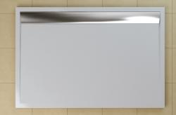 SanSwiss vanička ILA obdélník bílá 120x80x3,5 cm kryt aluchrom WIA801205004 (WIA801205004)