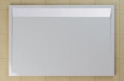 SanSwiss vanička ILA obdélník bílá 140x90x3,5 cm kryt bílý WIA901400404 (WIA901400404)