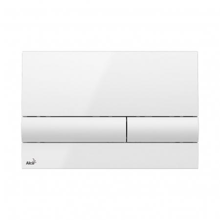 ALCAPLAST ovládací deska M1710 bílá  M1710 (M1710)