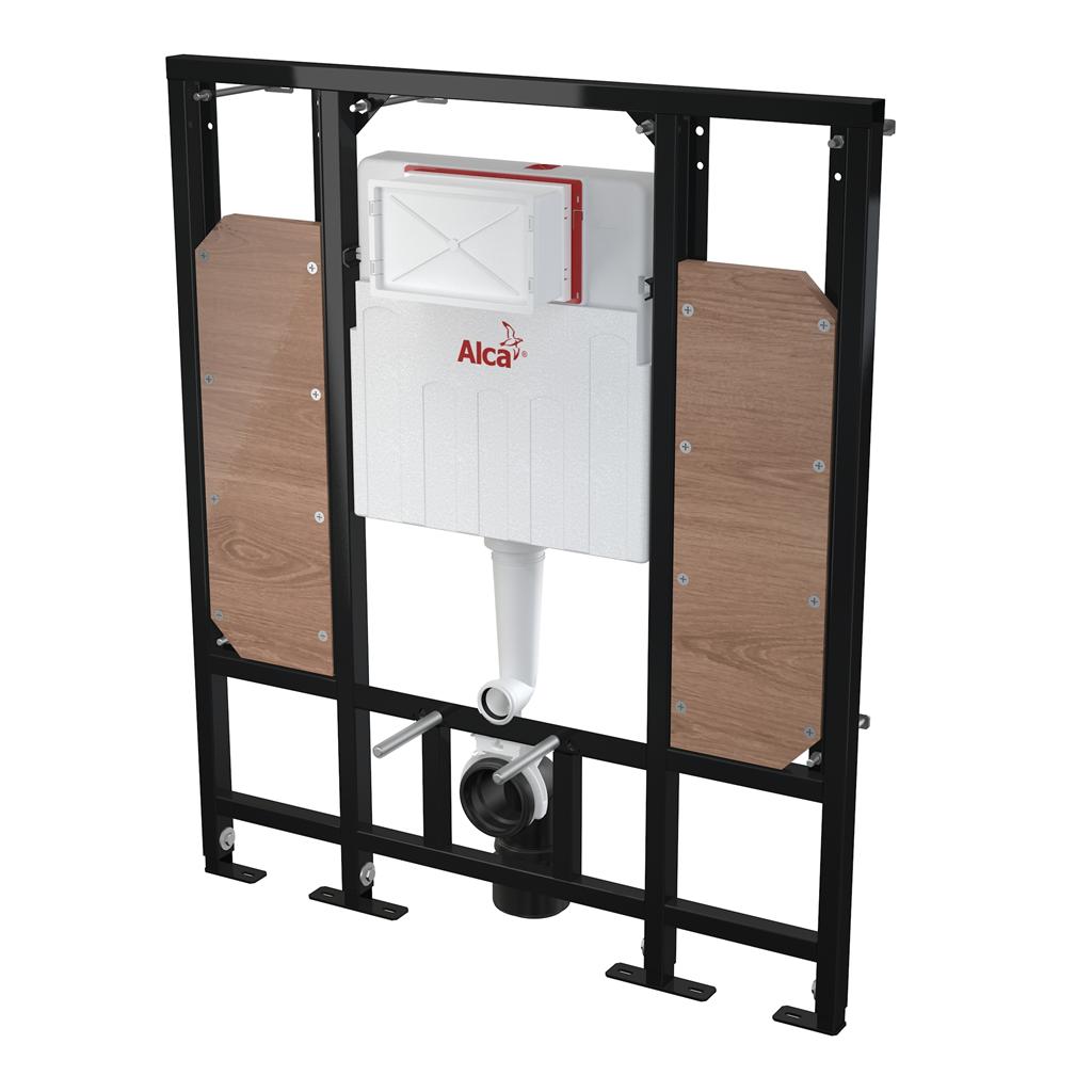 Alca plast Předstěnový instalační systém pro suchou instalaci (do sádrokartonu) – pro osoby se sníže