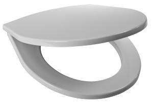 JIKA Lyra Plus sedátko pro záv.a stoj.WC, termoplast, plast úchyty 8.9338.7.000.000.1 H8933870000001