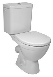 JIKA Lyra Plus WC kombi, šikmý 22st.odpad, boční 3/8 přívod vody H8263840002413 H8263840002413