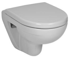 JIKA Lyra Plus WC mísa závěsná Compact, délka 49cm, hlub.splach. 8.2338.2.000.000.1 H8233820000001
