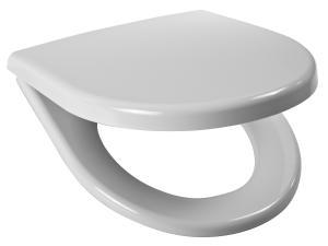 JIKA Lyra Plus / Tigo sedátko pro záv.a stoj.WC, duroplast, nerez úchyty 8.9338.4.300.063.1 H8933843