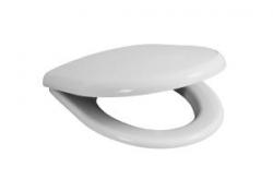 DEEP bílé wc sedátko BALTIC, kov úchyty, antibacteriá, pro zvýšené kombíky  H8932813000631 (H8932813000631) - JIKA