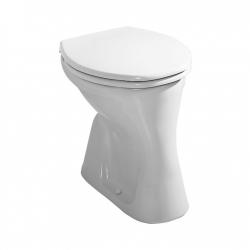 WC mísa DINO s ploškou, svislý odpad, JIKA, H8220080000001 (Roman H8211570000001) (H8220080000001)
