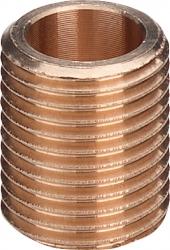"""Bronz nipl 1/2"""" (vsuvka jednoduchá) Viega V 322106 (V 322106) - VIEGA  s.r.o."""
