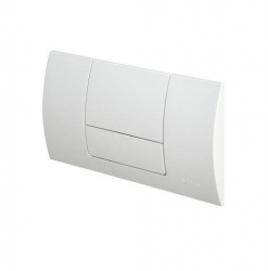 VIEGA  s.r.o. - Viega Standard1 bílá čelní ovládací deska, plastová V 449001 (V 449001)