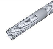 BRILON - Komín Serio flexibilní trubka DN83/75, PP, cívka 50 m 52104113 (52104113)