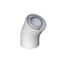 BRILON - Komín Serio koleno koaxiální DN125/80 x 30° 52102112 (52102112)
