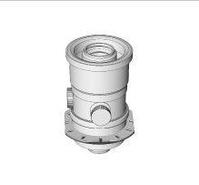 BRILON - Komín Serio kotlový adaptér ZEM pro koaxiální připojení DN100/60 52105101 (52105101)