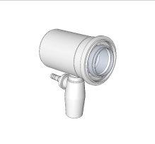 BRILON - Komín Serio přímý kus s odvodem kondenzátu koaxiální DN160/110 x 150mm 52109402 (52109402)