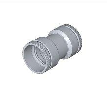 BRILON - Komín Serio šroubovací spojka pro flexibilní trubku DN83/75 52104115 (52104115)
