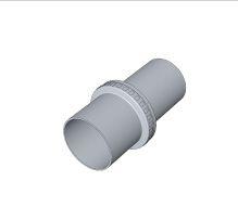 BRILON - Komín Serio závěsná objímka pro flexibilní trubku DN80 s UV-ochranou 52104117 (52104117)