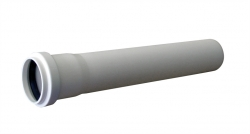 HT BÍLÁ trubka 40 x  250 mm     HTEM CT40251 (CT40251) - Plast Brno