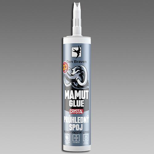 Tmel Mamut glue CRYSTAL 290ml-vysokopevnostní lepidlo transparentní, DenBraven 51930BD 51930BD