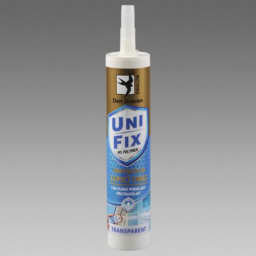 Tmel Ms polymer Unifix transparent 290ml, DenBraven 52011BD 52011BD