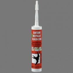 Tmel Sanitární neutrální silikon OXIM Bílý, DenBraven, 310ml kartuše  30602RL (30602RL) - DEN BRAVEN