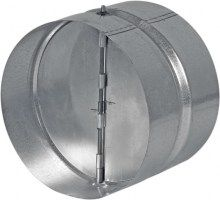 HACO Zpětná klapka kovová ZKK 100 HC0641 HC0641