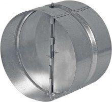 HACO Zpětná klapka kovová ZKK 125 HC0642 HC0642