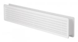 HACO Větrací mřížka dveřní 500x90 bílá (balení 2ks) HC0201 (HC0201)