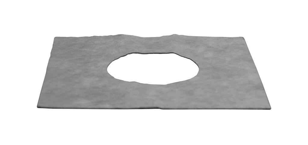 Hydroizolační samolepící fólie 25 x 25 cm s otvorem 11,5 cm Plast Brno NSI0250 NSI0250