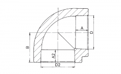 FV - Plast - PPR koleno  20 /90st. AA202020000 (202020), fotografie 2/1