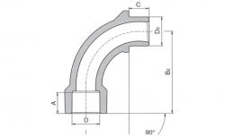 FV - Plast - PPR oblouk 20 / 90st. AA241020000 (241020) | Svět koupelny.cz