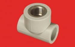 """PPR T kus 20x1/2"""" MZD vnitřní AA222020012 (222020) - FV - Plast"""