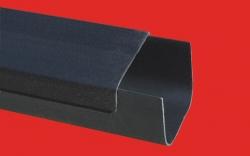 FV - Plast - PVC ochranné víko žlabu, 130x20x1000mm AA986013001 (910)