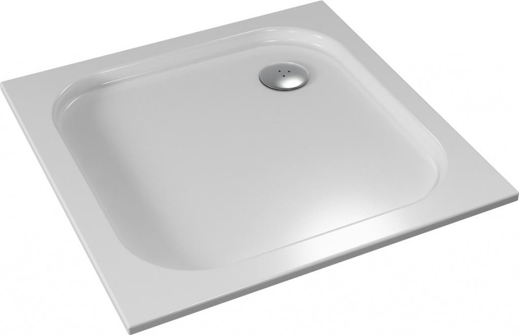 TEIKO vanička čtvercová BIANCA Bílá 80 x 80 x 3,5 V134080N32T05001