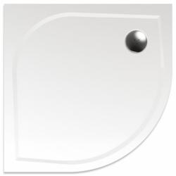 TEIKO vanička čtvrtkruhová VIRGO 90x90 R55 BÍLÁ 90 x 90 x 3   Z139090N96T51001 (Z139090N96T51001)