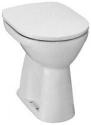 JIKA - WC mísa Lyra Plus s ploškou, svislý odpad, výška 45cm samostatně stojící klozet spodní vývod  H8253870000001 (H8253870000001)