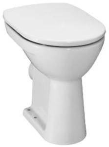 JIKA WC mísa Lyra Plus s ploškou, vodorovný odpad, výška 45 cm samostatně stojící klozet H8253860000