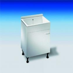 ABU mycí box bílý 610x455x920mm (710001) 60A00010099 (60A00010099) - GLYNWED