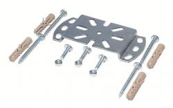 Ostatní - Děrovaný systém - deska nástěnná 50 x 2 / 110mm + spoj.materiál Rabovský 42041001 (42041001)