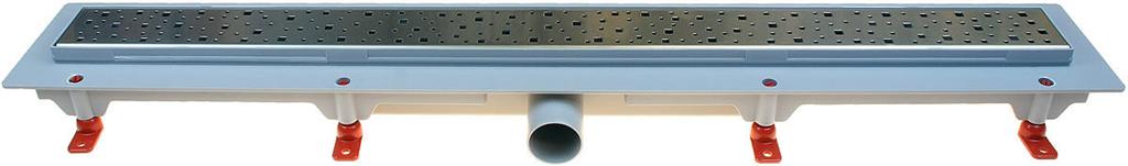 HACO Podlahový lineární žlab 850 mm square mat HC0540/6 HC0540/6