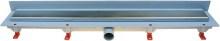 HACO Podlahový lineární žlab ke stěně 850 mm klasik mat HC0542/3 HC0542/3
