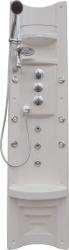 Teiko HM panel PAMO-páková baterie, bílý-chrom doplňky, rohový  V261185N65T01011 (V261185N65T01011)
