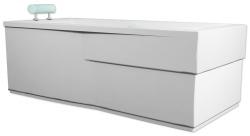 TEIKO panel vanový COLUMBA 180 LEVÁ BÍLÁ výška 56 (V122180L62T03001)