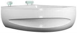 TEIKO panel vanový SPINELL 180 LEVÁ BÍLÁ výška 64,5 (V120180L62T02001)