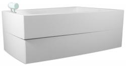 TEIKO panel vanový ARA LEVÁ BÍLÁ výška 54 (V120160L62T07001)