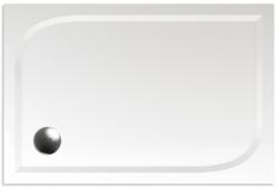TEIKO vanička obdélníková DRACO 100x80 BÍLÁ 100 x 80 x 3 (Z139100N96T01001)
