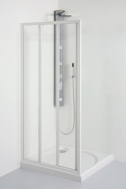 Teiko SD2/ 90 S bílá/sklo čiré, dveře posuvné V331090N52T32001 V331090N52T32001