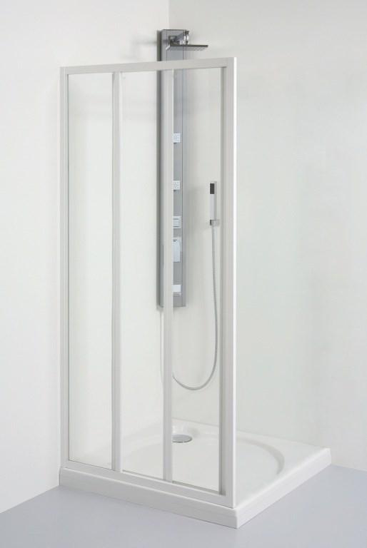 Teiko spr.dveře SD2/ 80 S bílá/Sklo V331080N52T32001